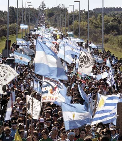 Argentine protest