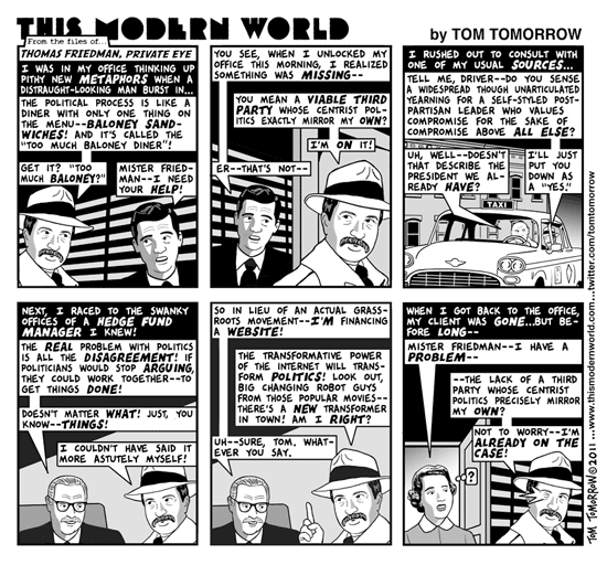 Tom friedman private eye